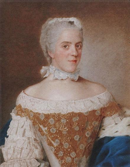 Portraits de famille de Louis XV sur une tabatière Madame16