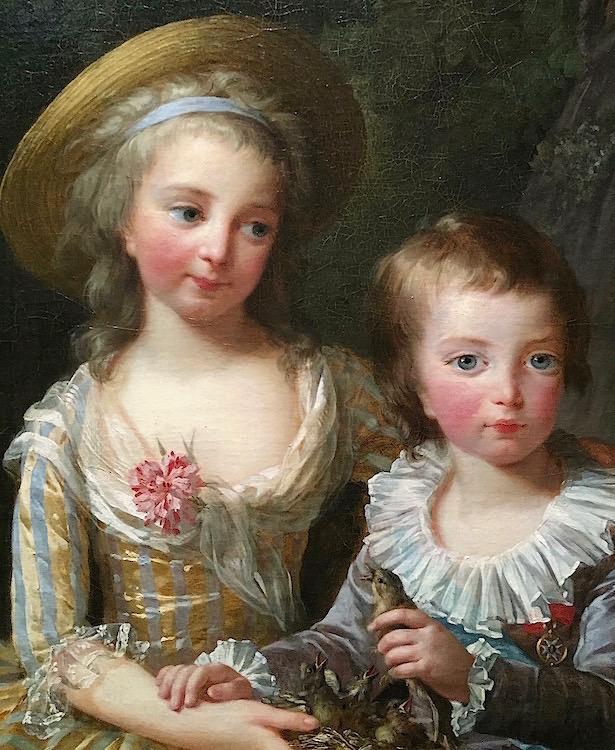 Portraits de Madame Royale et de Louis-Joseph par E. Vigée Le Brun (1784 et 1789) Madame17
