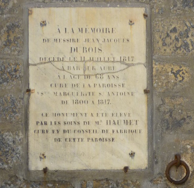 Madame de Tourzel, le corps et la sépulture de Louis XVII Marg0410