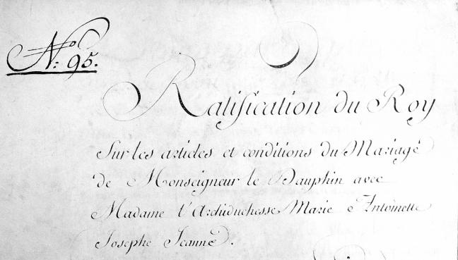 Le mariage de Louis XVI et Marie-Antoinette  - Page 9 Mariag11