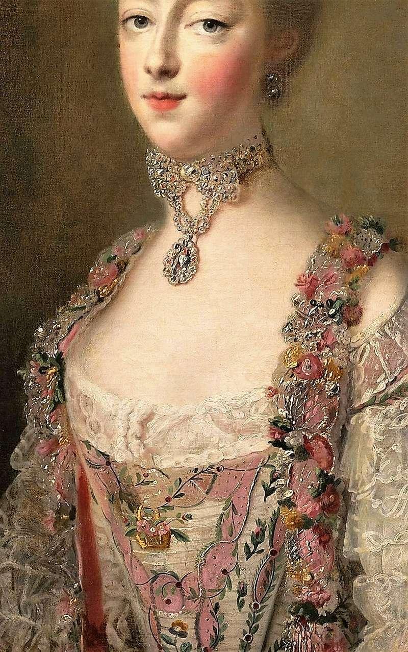 Portraits de Marie-Antoinette par et d'après François-Hubert Drouais Marie_50