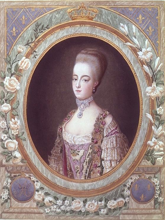 Portraits de Marie-Antoinette par et d'après François-Hubert Drouais Marie_57
