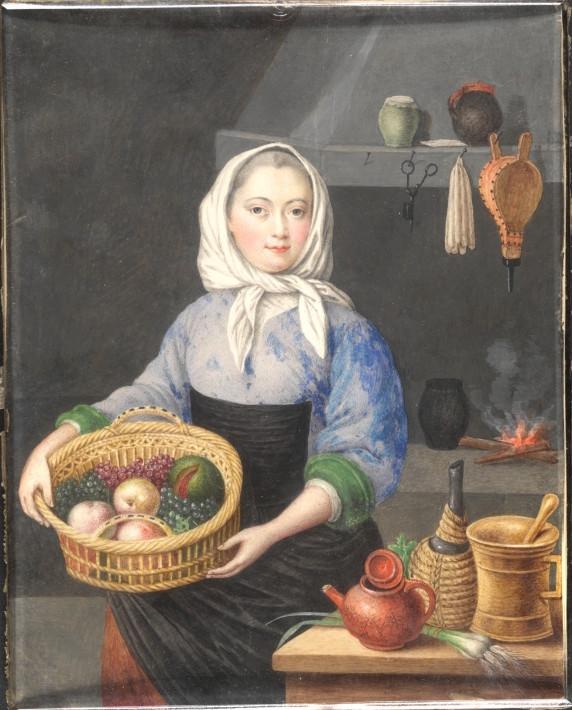 Dessins et aquarelles de Marie-Christine de Habsbourg Lorraine, soeur de Marie-Antoinette Marie_58