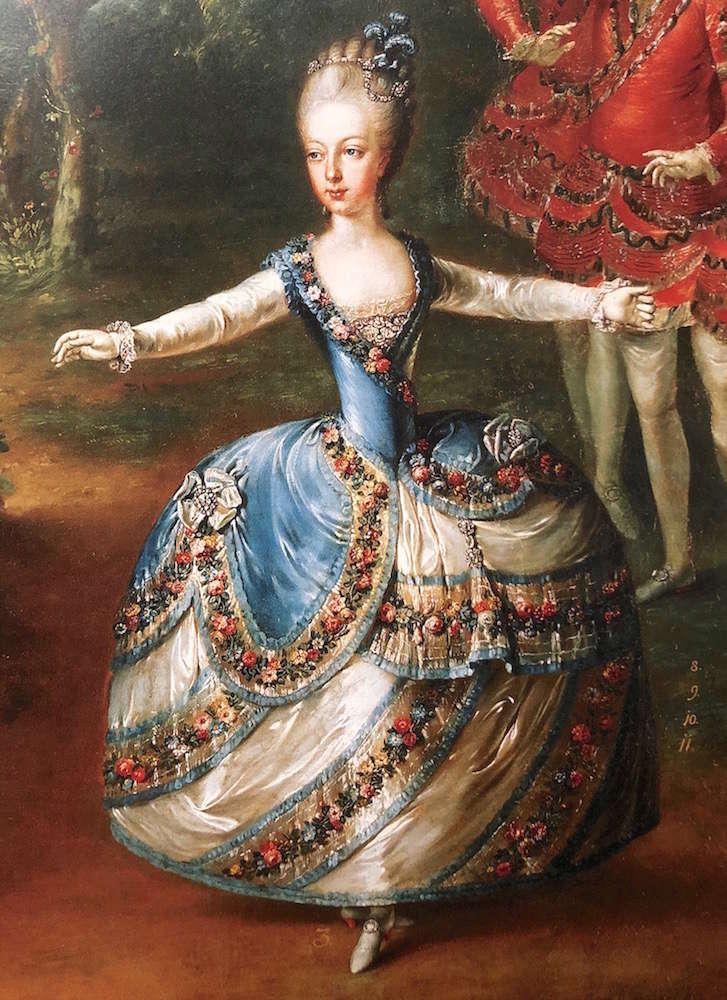 Portraits de Marie-Antoinette, enfant et jeune archiduchesse - Page 6 Marie_66
