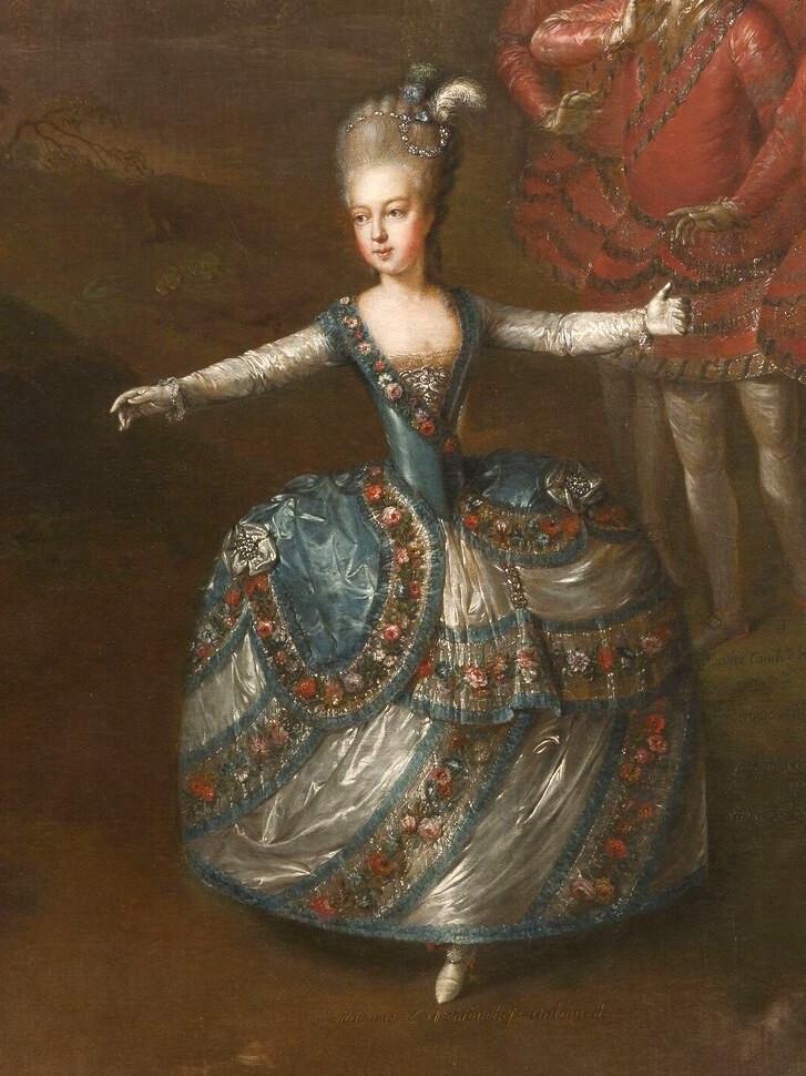 Portraits de Marie-Antoinette, enfant et jeune archiduchesse - Page 6 Marie_67