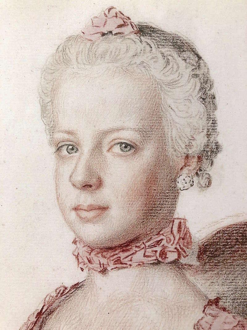 Portraits de Marie-Antoinette, enfant et jeune archiduchesse - Page 6 Marie_68
