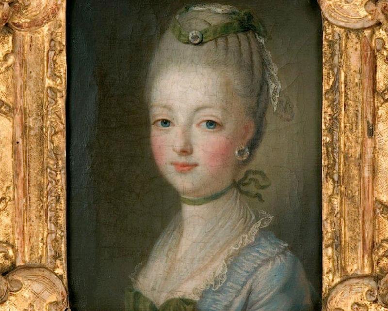 Portraits de Marie-Antoinette par et d'après François-Hubert Drouais Marie_96