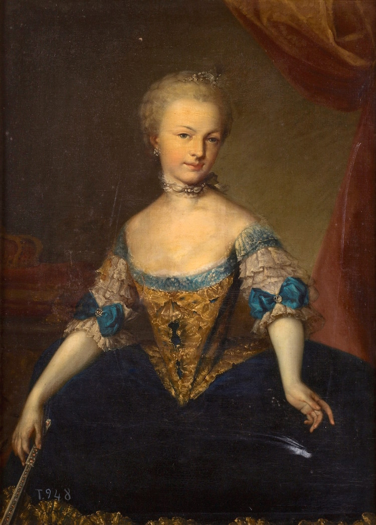 Portraits de l'archiduchesse Marie-Josèphe Mariia12