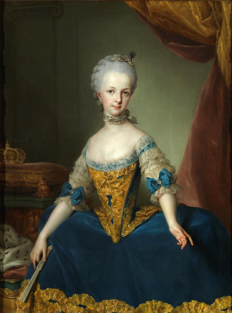 Portraits de l'archiduchesse Marie-Josèphe Mariia13