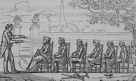 Le marquis de Puységur : magnétisme et hypnose au XVIIIe siècle Mesmer10