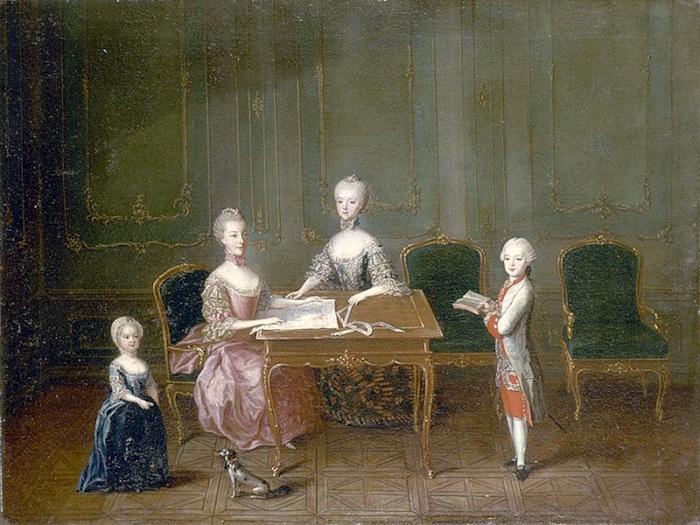 Portraits de Marie-Antoinette, enfant et jeune archiduchesse - Page 5 Meyten11