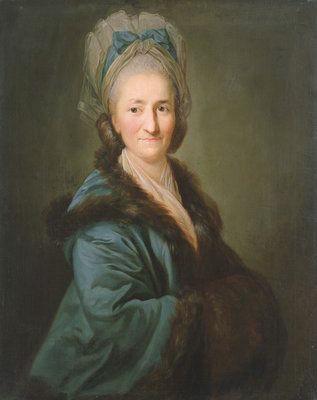 Galerie de portraits : Le manchon au XVIIIe siècle  Par_an11