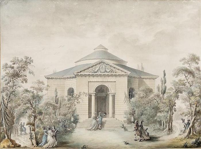 Provence - Le château de Montreuil et le pavillon de musique de Madame, comtesse de Provence Pavill11