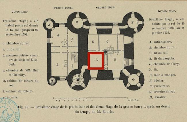 Les papiers peints de la prison du Temple - Page 2 Plan_p13