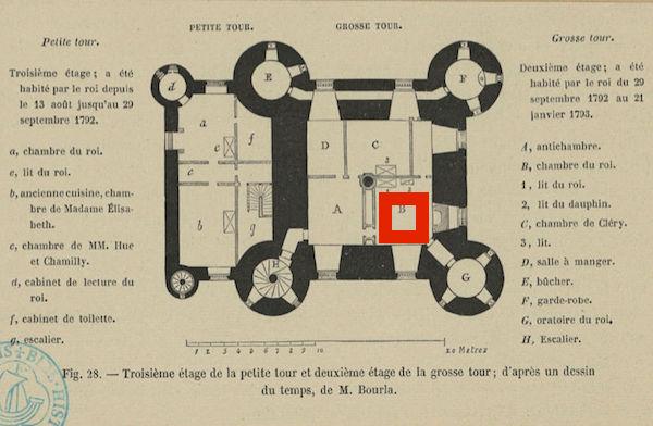 Les papiers peints de la prison du Temple - Page 2 Plan_p14