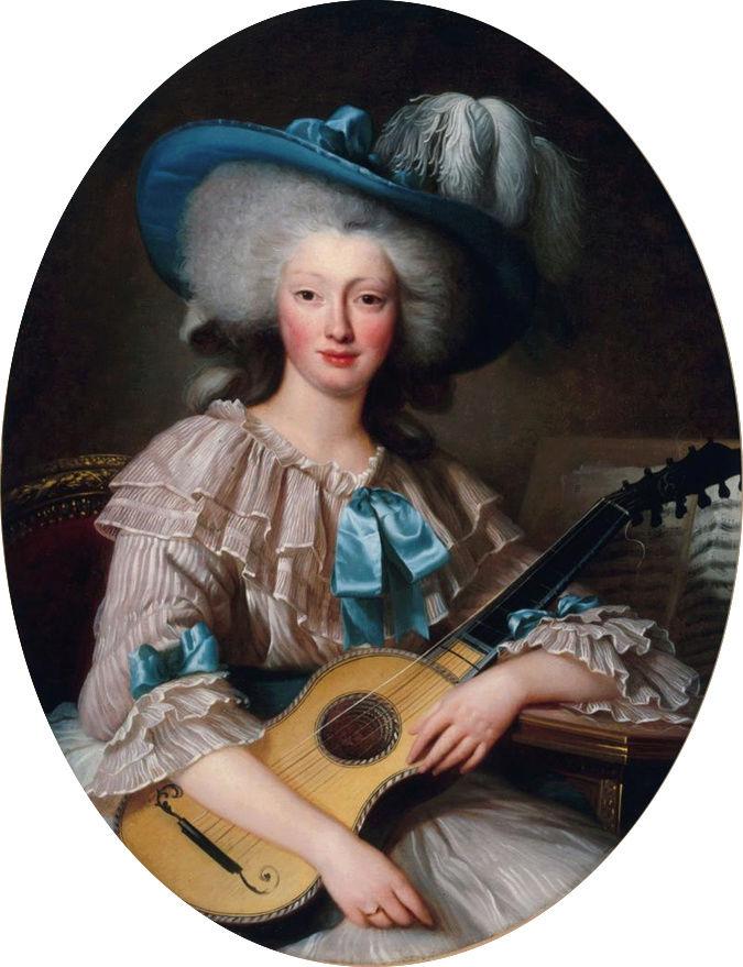 Maison et dames du Palais de la reine Marie-Antoinette - Page 7 Portra26