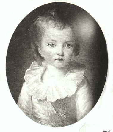 Portraits de Madame Royale et de Louis-Joseph par E. Vigée Le Brun (1784 et 1789) Portra27