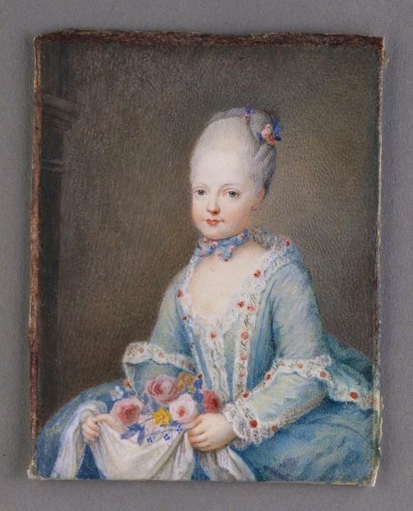 Portraits de Marie-Antoinette, enfant et jeune archiduchesse - Page 5 Portra28