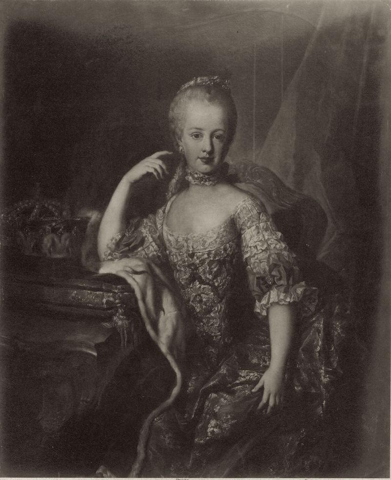 Portraits de l'archiduchesse Marie-Josèphe Portra30