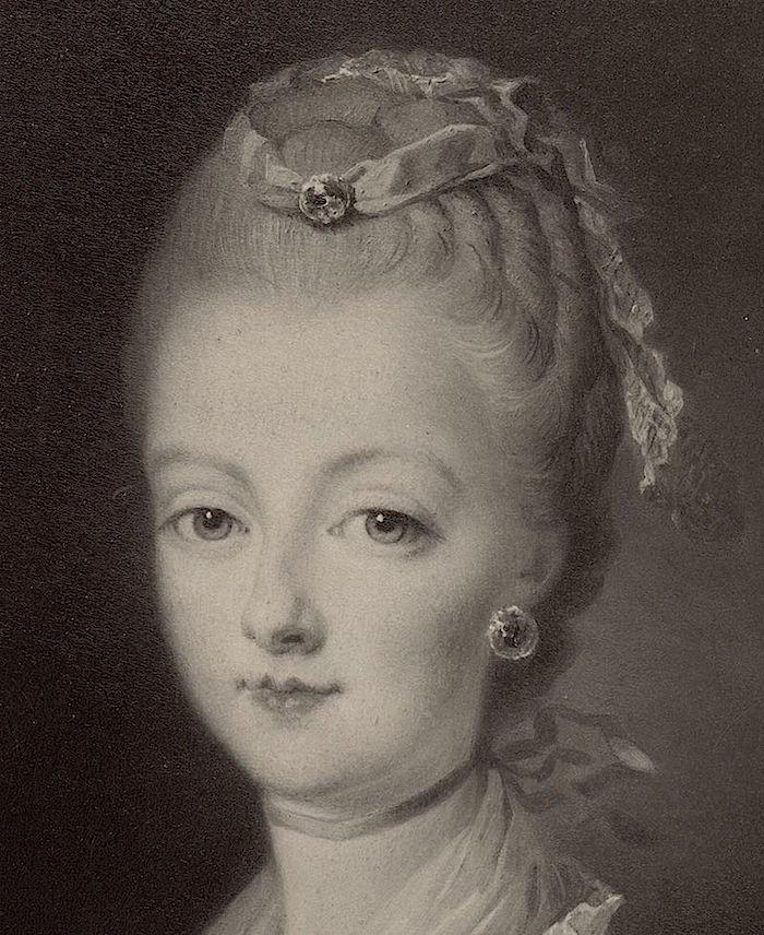 Portraits de Marie-Antoinette par et d'après François-Hubert Drouais Portra36