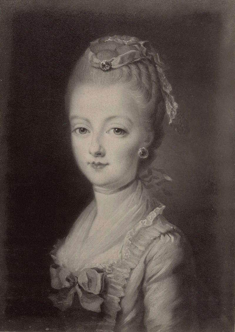 Portraits de Marie-Antoinette par et d'après François-Hubert Drouais Portra37