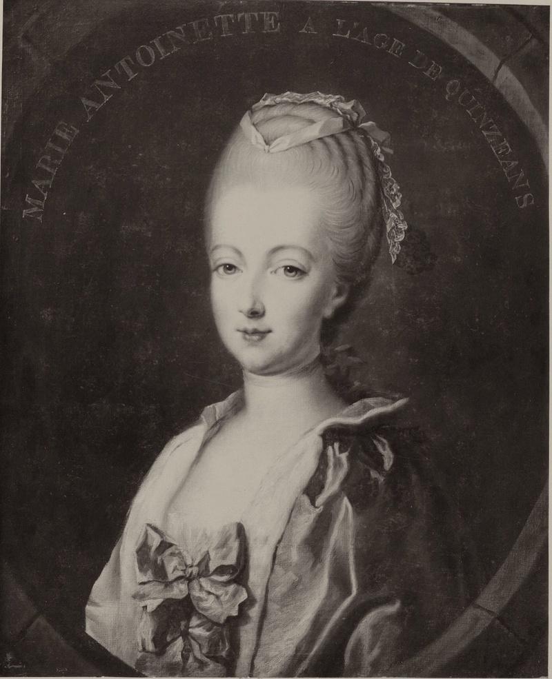 Portraits de Marie-Antoinette par et d'après François-Hubert Drouais Portra38