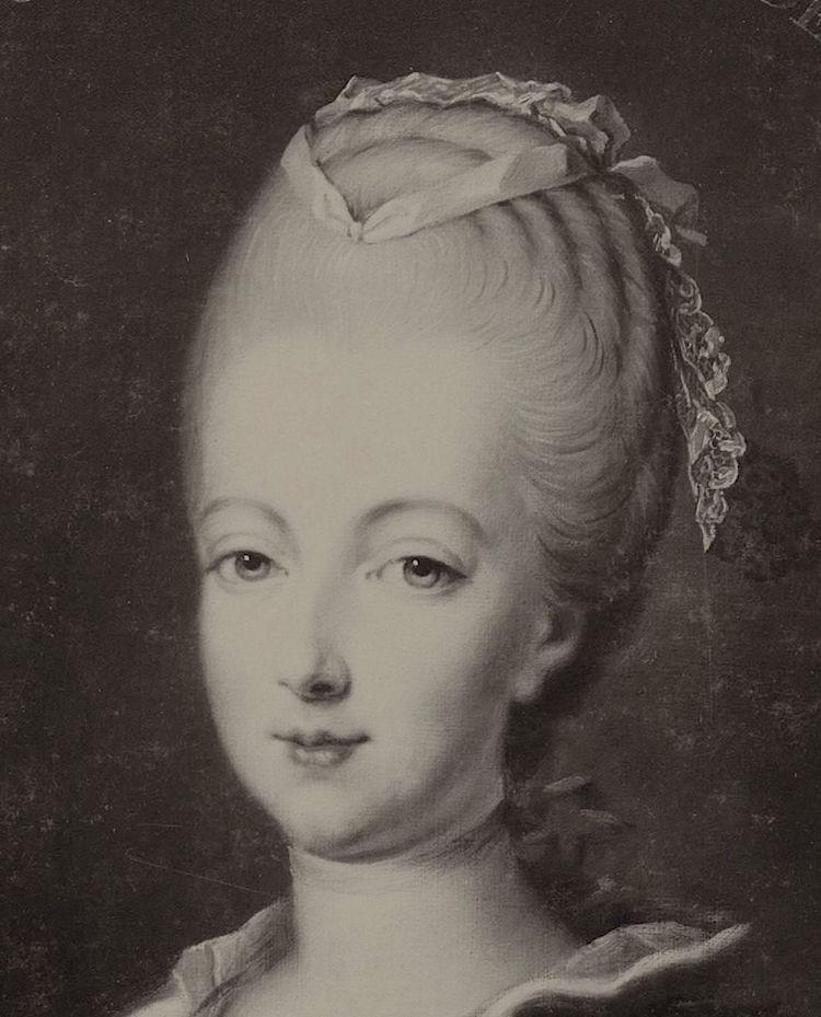 Portraits de Marie-Antoinette par et d'après François-Hubert Drouais Portra39