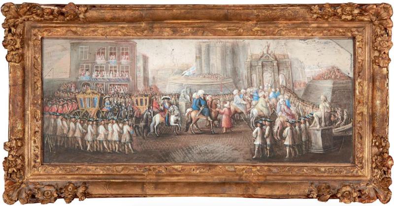 Yirmisekiz-Mehmed Çelebi Efendi - Ambassadeur de la Sublime Porte en visite en France de 1720 à 1721 Prison10