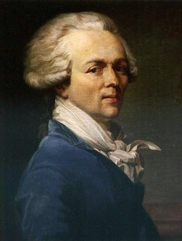 Le peintre Joseph Ducreux Robesp11