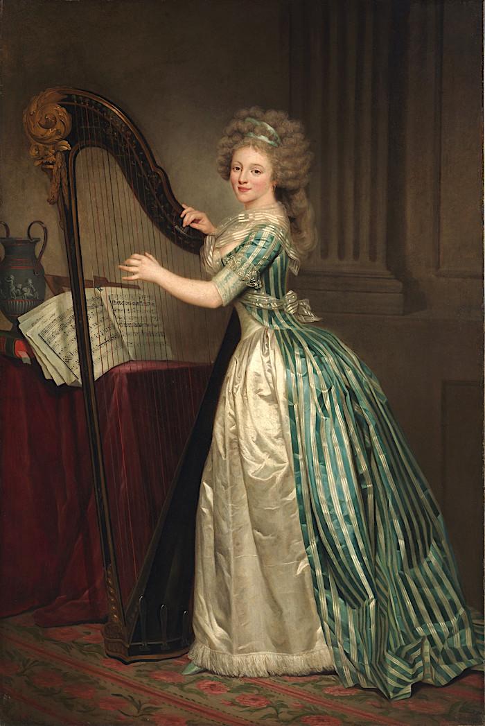 Le peintre Joseph Ducreux Rose_a11