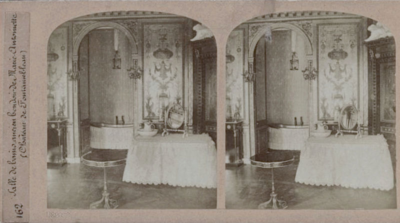 Le boudoir d'argent de Marie-Antoinette au château de Fontainebleau  - Page 2 Salle_10