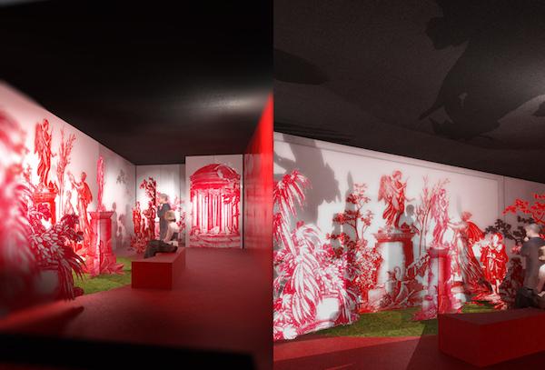 Exposition au Musée de la toile de Jouy Scenoj11