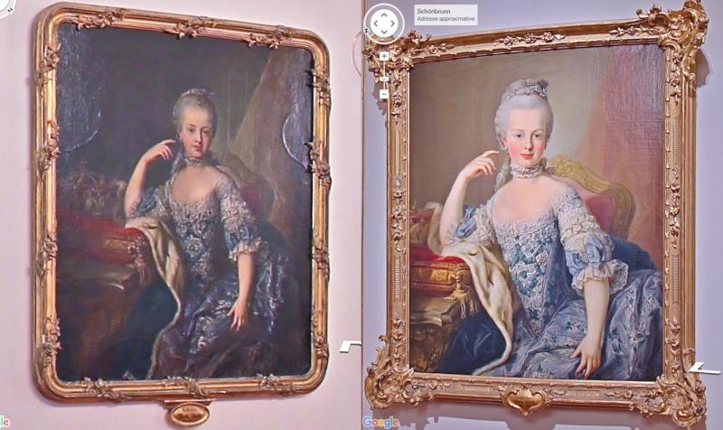 Portraits de l'archiduchesse Marie-Josèphe Schonb10