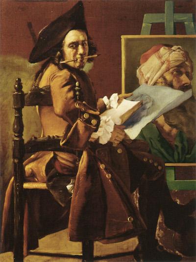 La peinture française du XVIIIème siècle au Louvre Self-p11