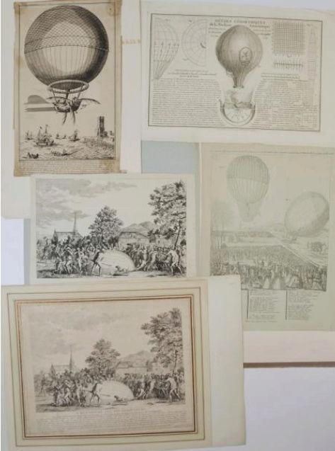 La conquête de l'espace au XVIIIe siècle, les premiers ballons et montgolfières !  - Page 7 Teilei10