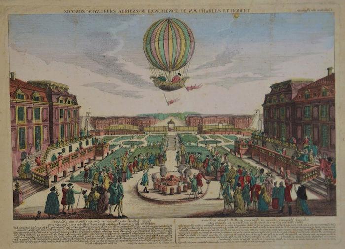 La conquête de l'espace au XVIIIe siècle, les premiers ballons et montgolfières !  - Page 7 Teilei11