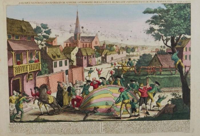 La conquête de l'espace au XVIIIe siècle, les premiers ballons et montgolfières !  - Page 7 Teilei12