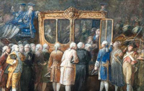 Portraits de Marie-Antoinette par Joseph Navlet