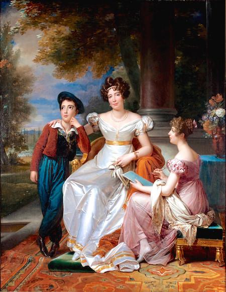 Portraits de famille de Louis XV sur une tabatière Zoe_ta10