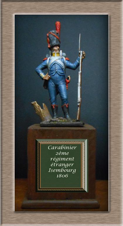 Vitrine Alain 2 mise en peinture sculpture Grenadier en surtout  1807  MM54mm - Page 9 15111110