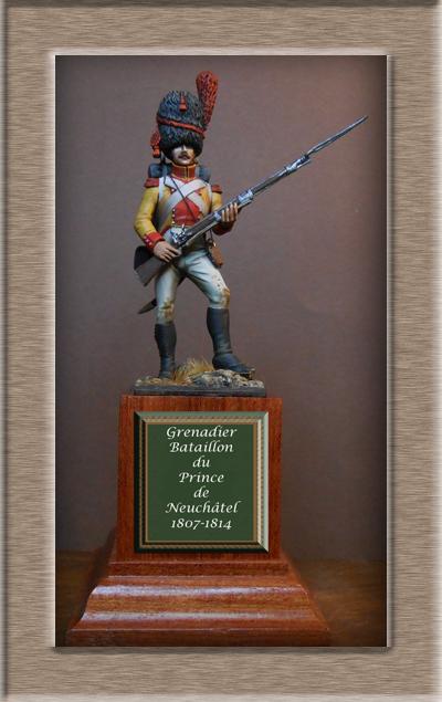 Vitrine Alain 2 mise en peinture sculpture Grenadier en surtout  1807  MM54mm - Page 6 Dscn0710