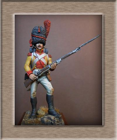 Vitrine Alain 2 mise en peinture sculpture Grenadier en surtout  1807  MM54mm - Page 6 Dscn0711