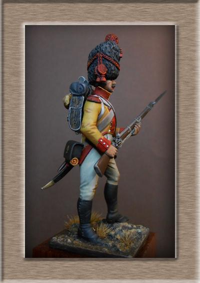 Vitrine Alain 2 mise en peinture sculpture Grenadier en surtout  1807  MM54mm - Page 6 Dscn0712