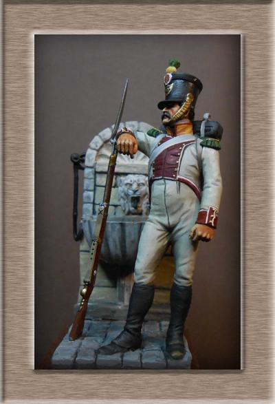 Vitrine Alain 2 mise en peinture sculpture Grenadier en surtout  1807  MM54mm - Page 6 Dscn0811