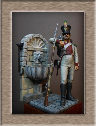 Vitrine Alain 2 mise en peinture sculpture Grenadier en surtout  1807  MM54mm - Page 6 Dscn0812