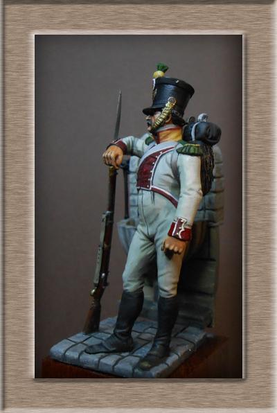 Vitrine Alain 2 mise en peinture sculpture Grenadier en surtout  1807  MM54mm - Page 6 Dscn0813
