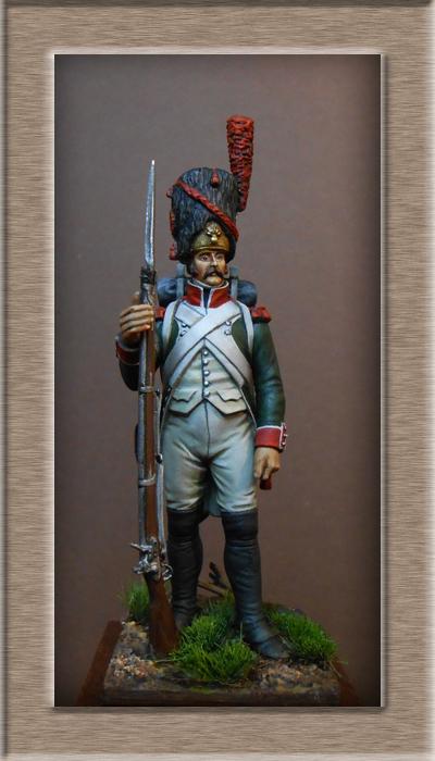 Vitrine Alain 2 mise en peinture sculpture Grenadier en surtout  1807  MM54mm - Page 6 Dscn0818