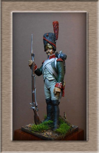 Royaume d'Italie.Grenadier de ligne 1804-1807 MM54mm Dscn0823