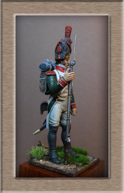 Royaume d'Italie.Grenadier de ligne 1804-1807 MM54mm Dscn0824