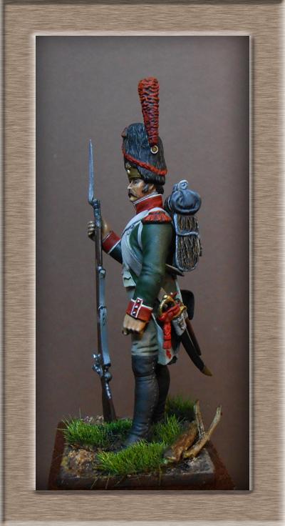 Royaume d'Italie.Grenadier de ligne 1804-1807 MM54mm Dscn0825